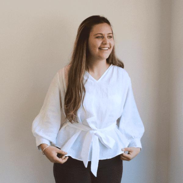 blouse one sewing pattern by makyla creates
