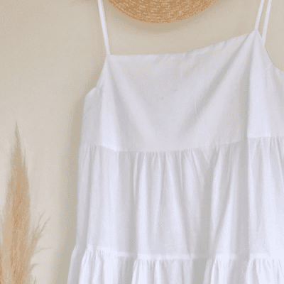 HOW TO MAKE A TIERED MAXI DRESS