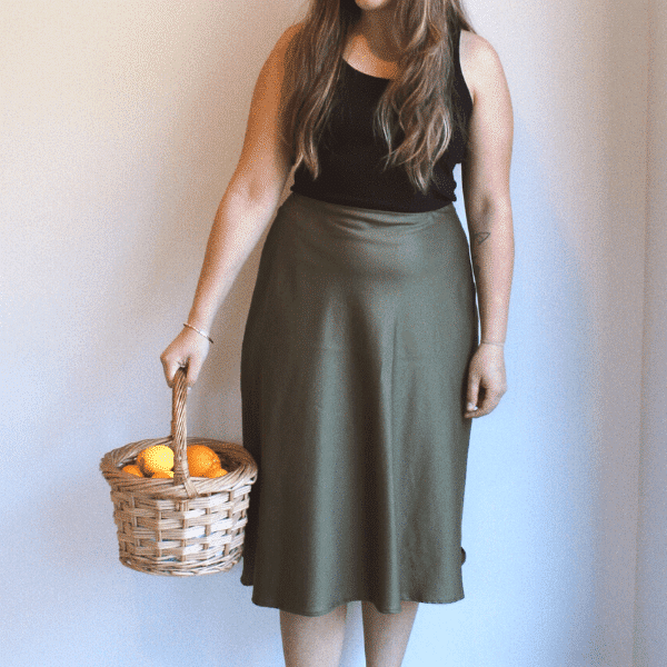 Rachel bias skirt by makyla creates
