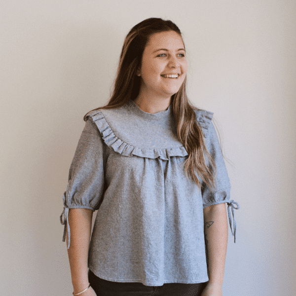 dua blouse sewing pattern by makyla creates