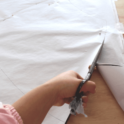 How To Cut Out Delicate Fabrics On The Bias