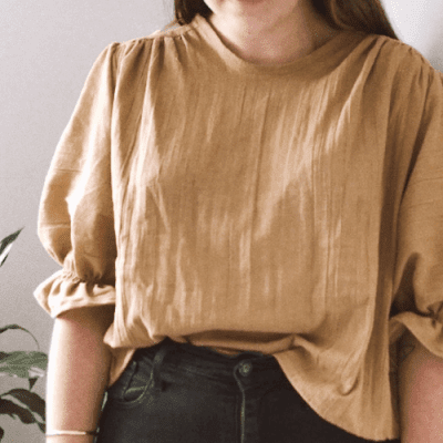 How To Make A Puff Sleeve Top