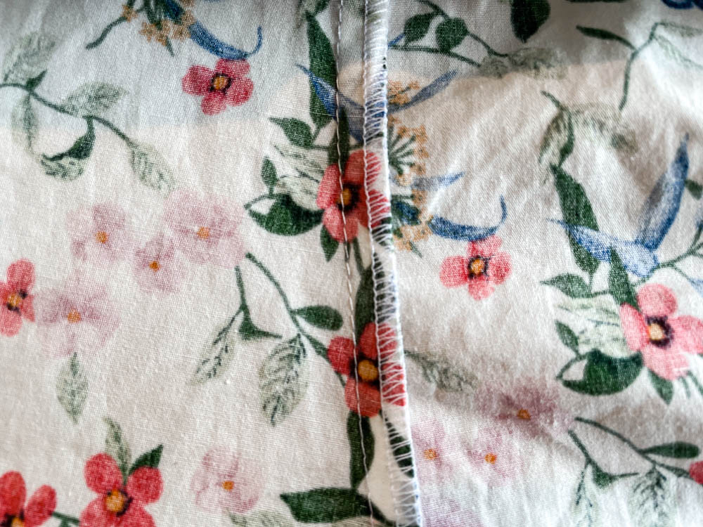 Seams – How to Sew a Plain and Open Seam