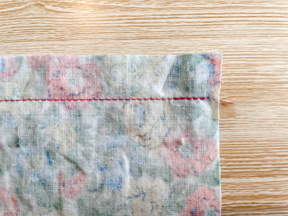 Seams - How to Sew a Plain and Open Seam