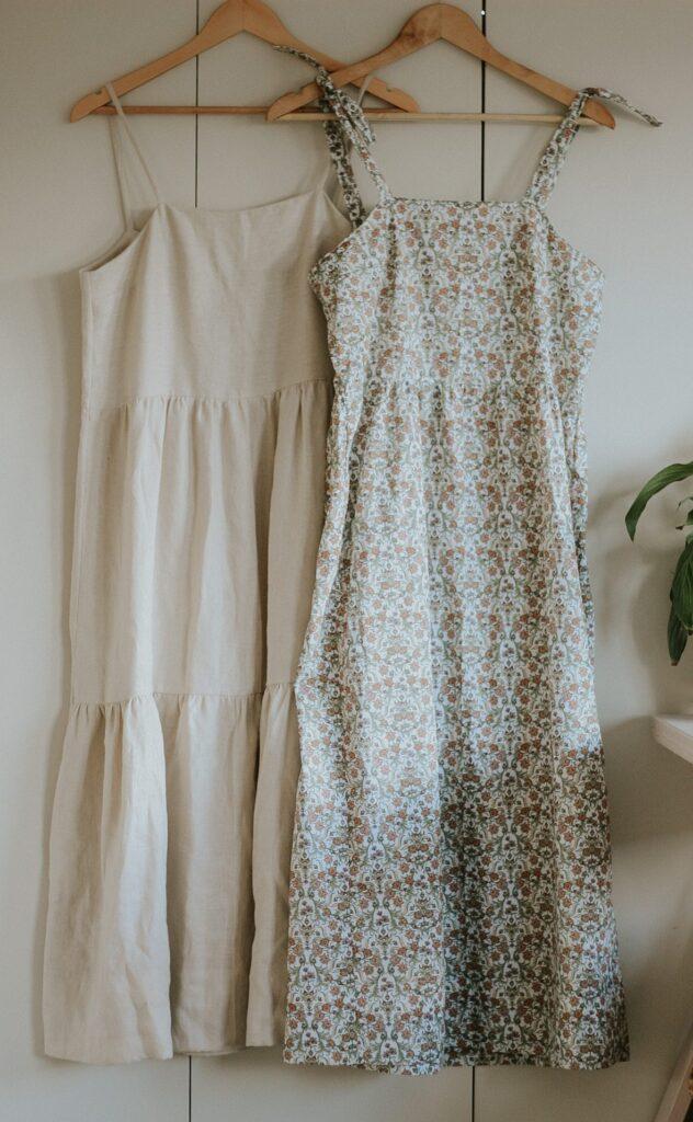 tiered maxi dress sewing pattern