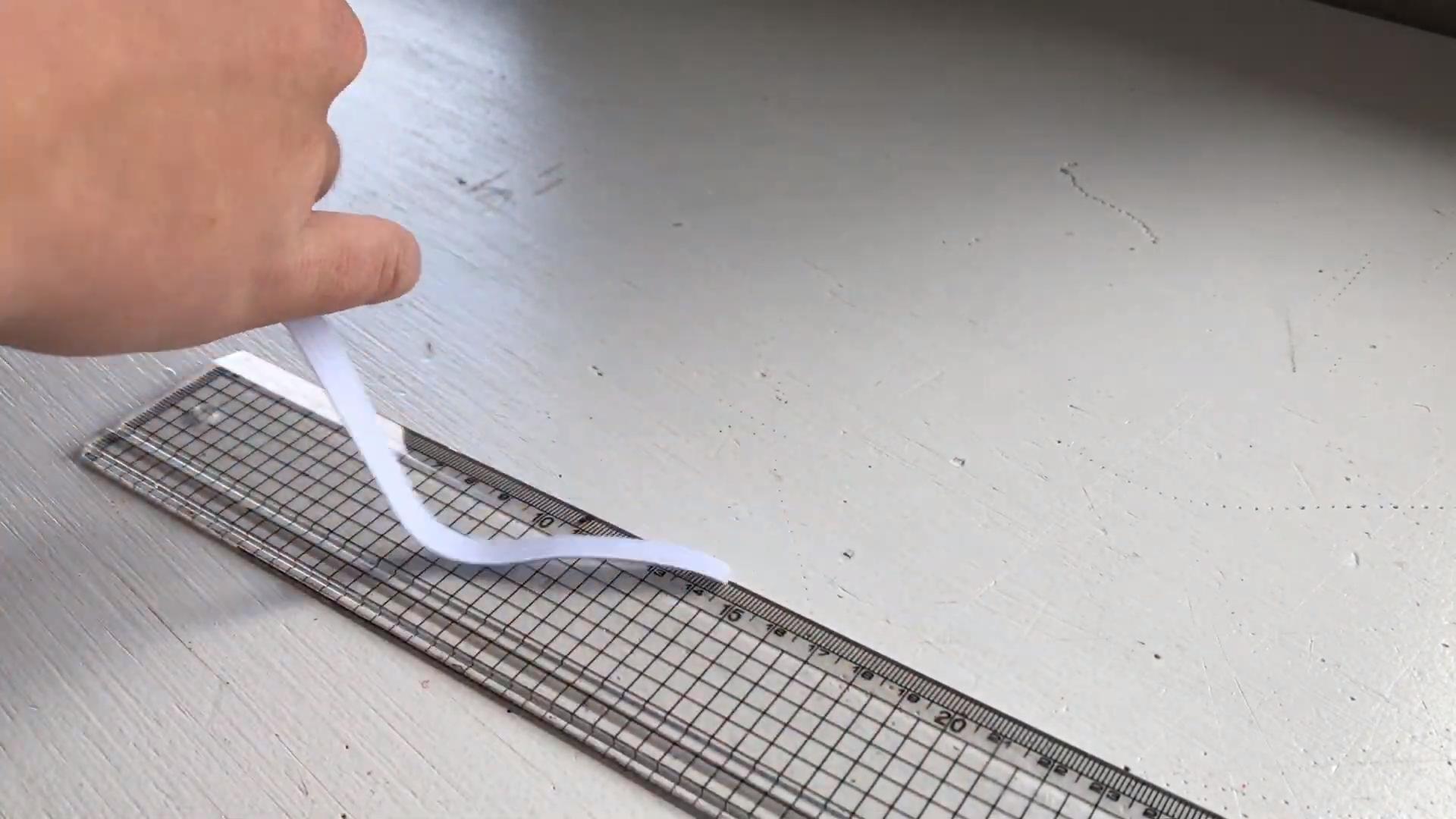 cut elastic 20cm long