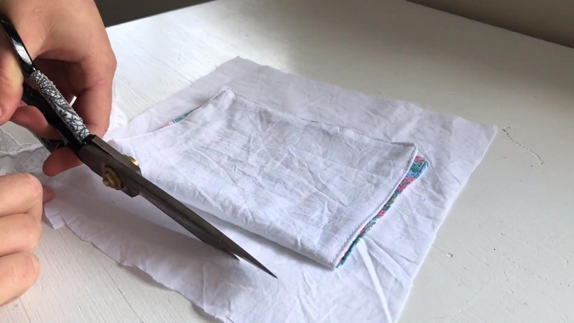fold wrap in half