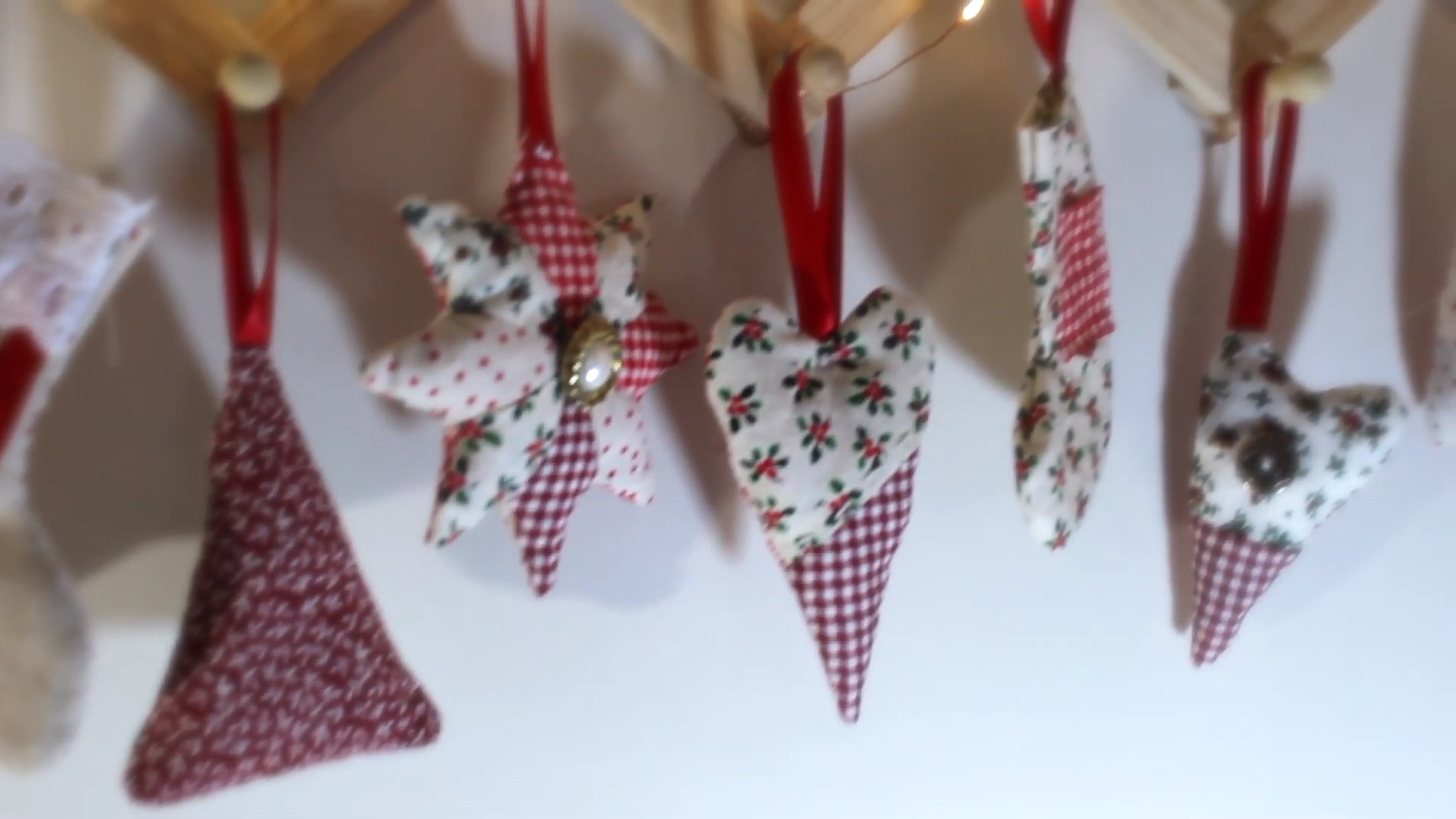 How To Make Christmas Decorations On A Budget hanging up