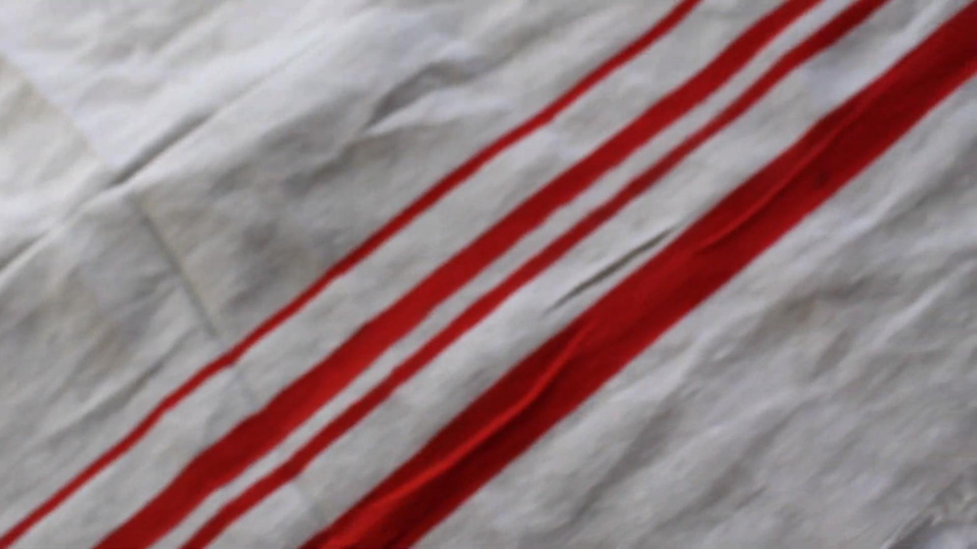 masking grain sack fabric