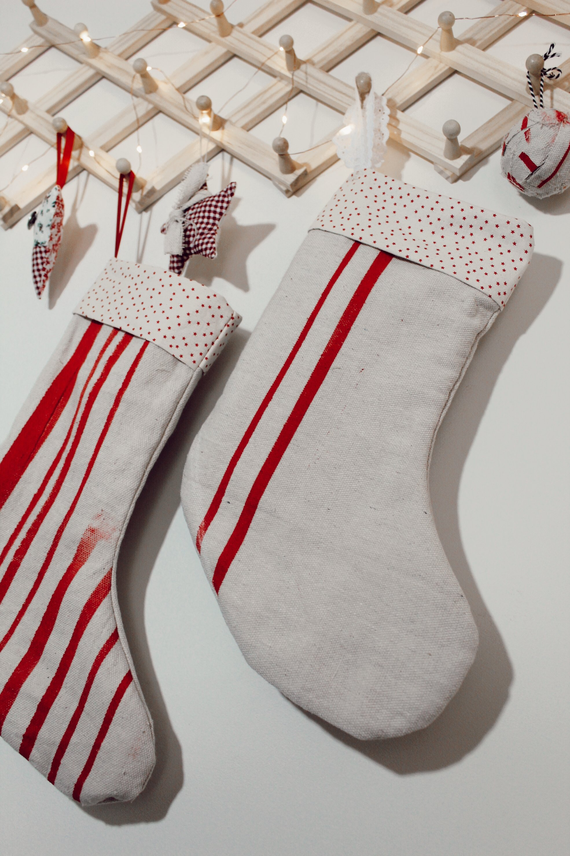 diy printable christmas stocking
