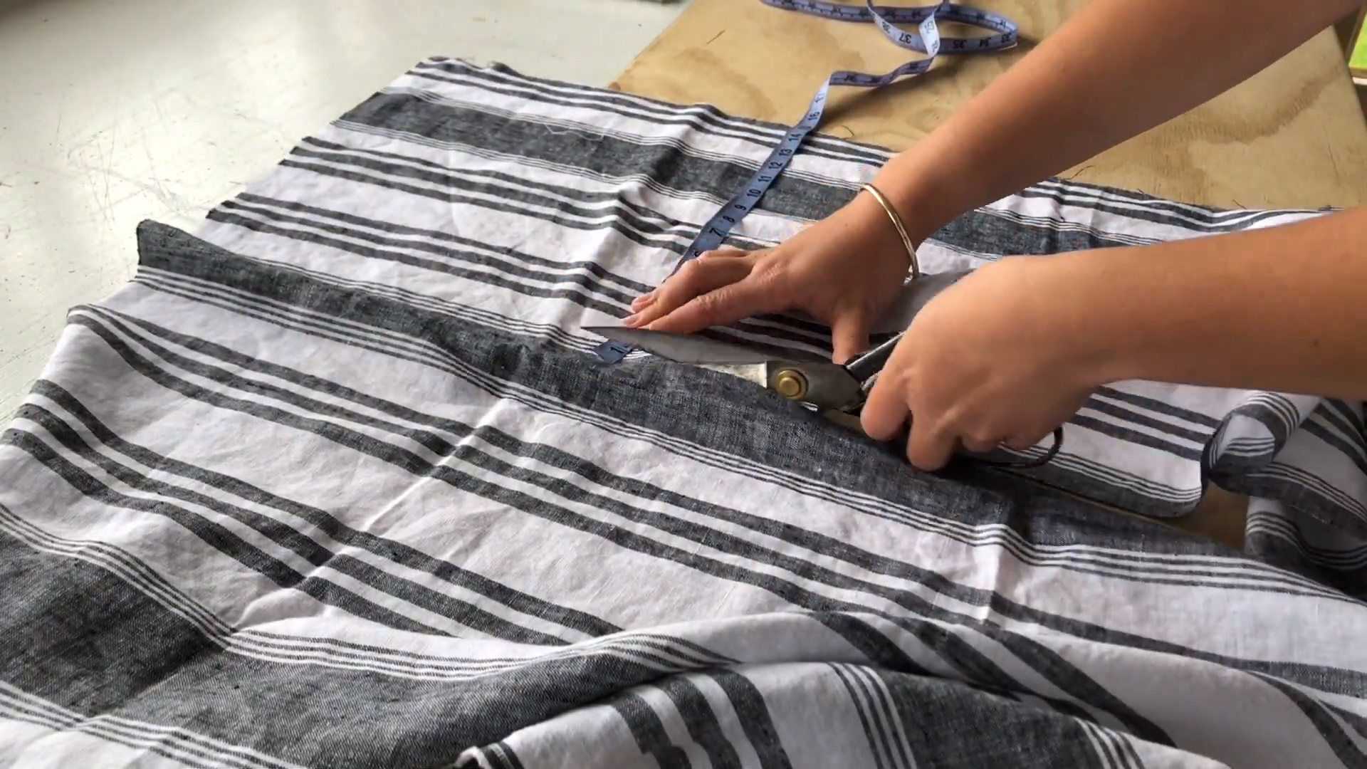 cutting out top
